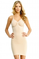 MeMoi SlimMe Underwire and Wide Adjustable Straps Shaping Slip