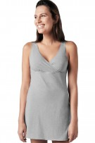 Naked Essential Cotton Stretch Sleep Criss-Cross Chemise