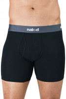 Naked Men Essential Cotton Stretch Boxer Briefs 2-Pack