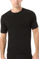 Naked Men Essential Cotton Stretch Crew T-Shirt 2-Pack