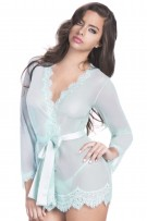Oh La La Cheri Provence Eyelash Robe and G-String