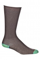 Ozone Men's Basic Heather Brown Sock