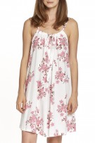 P.Jamas Knit Cherry Blossoms Chemise