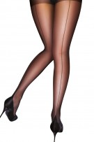 Pretty Polly Curves Backseam Tights