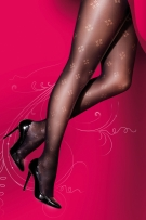 Pretty Polly Curves Dot Diamond Fashion Tights