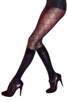 Pretty Polly Secret Socks Pattern Modal Sock Tights