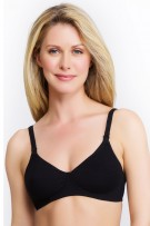 QT Intimates Simple and Supportive Cotton Nursing Bra