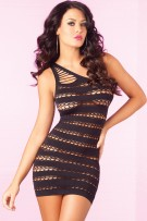 rene-rofe-pink-lipstick-sizzle-stripes-seamless-dress-25046-black.jpg