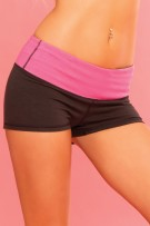 rene-rofe-pink-lipstick-strike-a-pose-reversible-yoga-short-26013-black.jpg