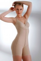 Renolife by Annette One Piece Zip Front Post Surgical Bodysuit