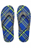 Showaflops Plaid Men's Flip Flops