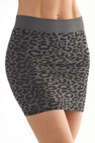 Skinny Tees Animal Print Skirt