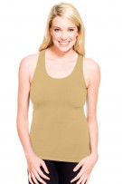 Skinny Tees Racerback Smooth Tank