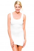 Skinny Tees Ribbed Tank Dress