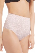 SkinnyGirl Shapewear True Waist Laser Cut Shaping Thong