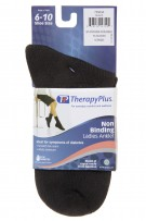 TherapyPlus Ladies Non-Binding Casual Bamboo Anklet