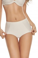 TrueShapers Seamless Mid-Waist Control Panty with Butt Lifter