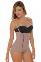 TruFigure Strapless Butt Enhancer Bodysuit with Zipper