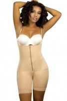 Vedette Jodie Mid-Thigh Full Body Shaper with Front Zipper