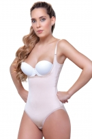 Vedette Therese Open Bust Bodysuit