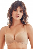 13f939168 ... Wacoal b.tempt d B. Splendid Wire Free Push Up Bra. Au Natural Heather  ...