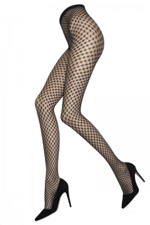 Alice & Olivia for Pretty Polly Double Fishnet Tights