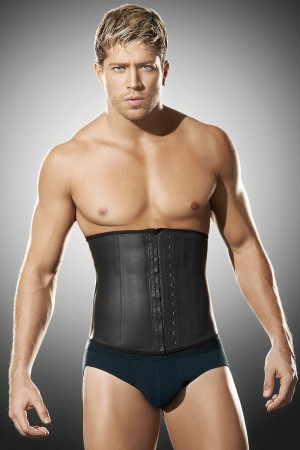 Ann Chery Clasica Latex Men's Waist Cincher