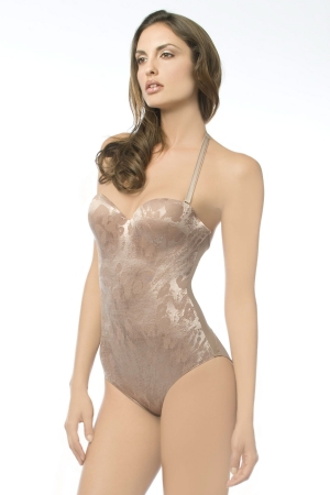 6a923d050e Annette Power Curves Strapless Brief Bodysuit 5005