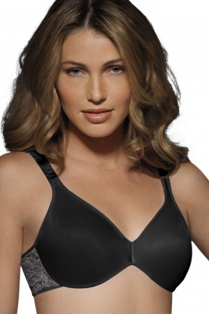 Bali Comfort Indulgence Underwire with Lace Bra