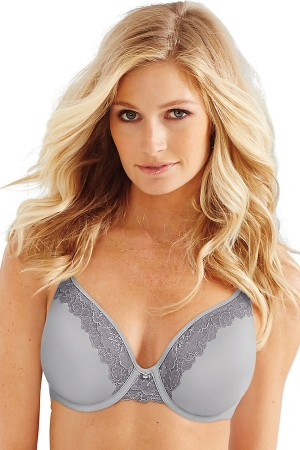 Bali One Smooth U Ultra Light Lace with Lift Underwire Bra