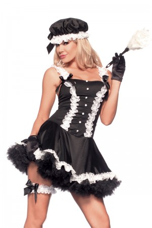 Be Wicked 5th Ave Maid Costume