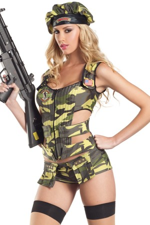 Be Wicked Army Brat Costume