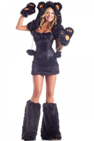 Be Wicked Black Bear Costume