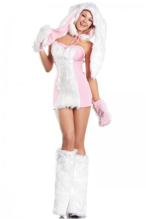 Be Wicked Blushing Bunny Costume