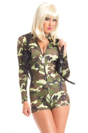 Be Wicked Commander Cutie Costume