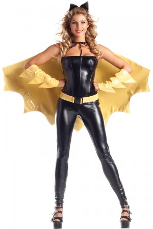 Be Wicked Deluxe Crime-Fighting Crusader Costume