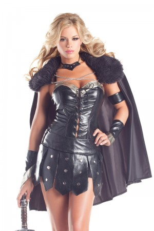 Be Wicked Deluxe Warrior Princess Costume