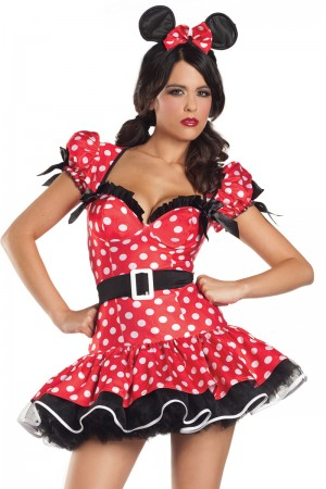 Be Wicked Flirty Mouse Costume