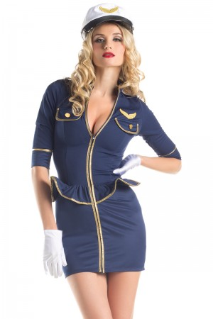 Be Wicked Fly Me Pilot Costume