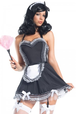 Be Wicked Hands On Maid Costume