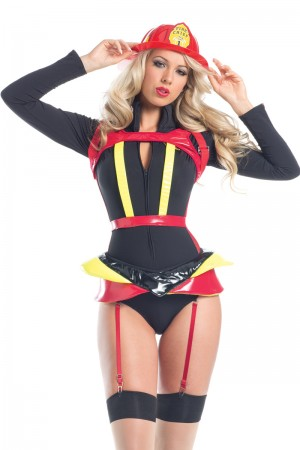 Be Wicked Hearts Afire Costume