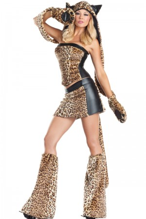 Be Wicked Lusty Leopard Costume