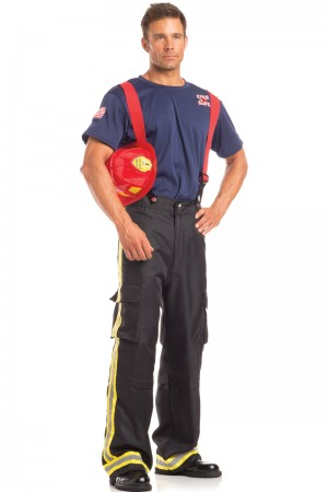 Be Wicked Men's Fierce Firefighter Costume