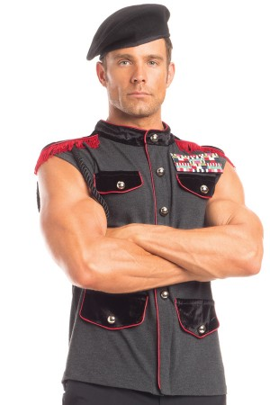 Be Wicked Men's Outstanding Officer Costume