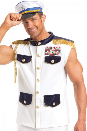 Be Wicked Men's Scintillating Sea Captain Costume