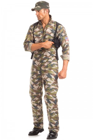 Be Wicked Men's Scrumptious Sergeant Major Costume