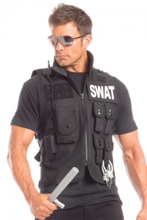 Be Wicked Men's Sumptuous S.W.A.T. Costume