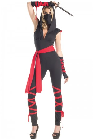 Be Wicked Mortal Ninja Costume