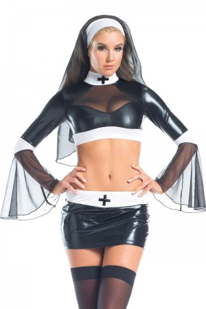Be Wicked Naughty Nun Costume