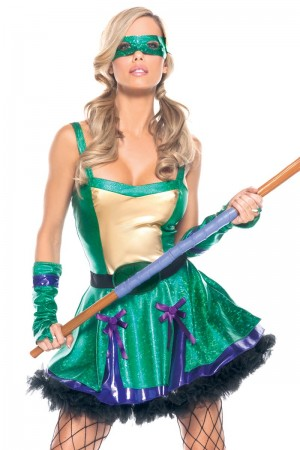 Be Wicked Ninja Babe Costume